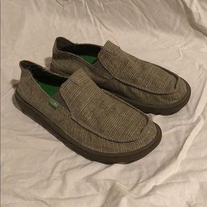 Sanuk Waterproof Shoes Worn Once! Mens 10
